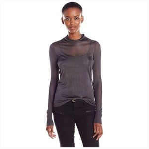 Bailey 44 Melvin Sheer Sweater Anthracita